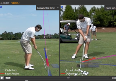 Online Golf Lesson and Swing Analysis with P.G.A. Professional Mike Donald